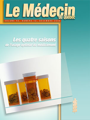 Les quatre saisons de l'usage optimal du médicament